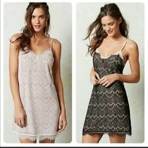 Anthropologie by Eloise lace slip night gown